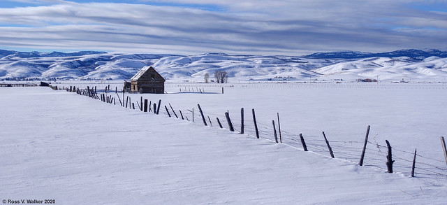 Little Barn, Big Valley - Panoramic Version
