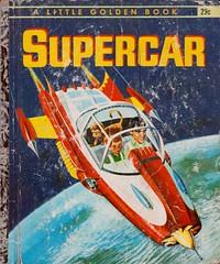 """Supercar"" Little Golden Book Cover"