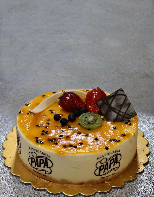 2020 Sydney: Passionfruit Cheesecake