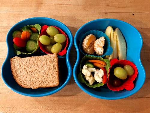 our on-the-go lunch containers
