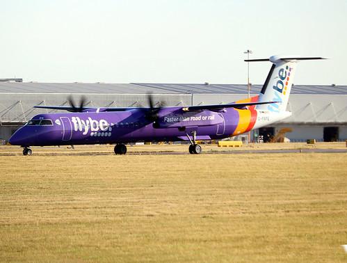 Bombadier DHC-8 402 G-PRPE FlyBe EGNX 02072018