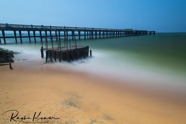 Valiathura Sea Bridge, Trivandrum, India