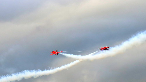 Red Arrows at Scampton 8