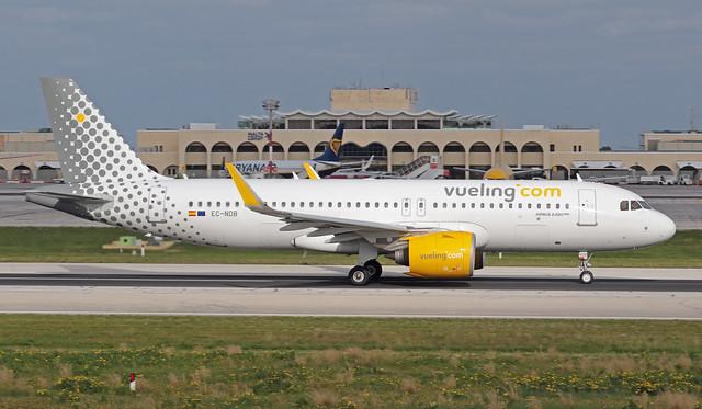EC-NDB LMML 24-01-2020 Vueling Airbus A320-271N cn 8927