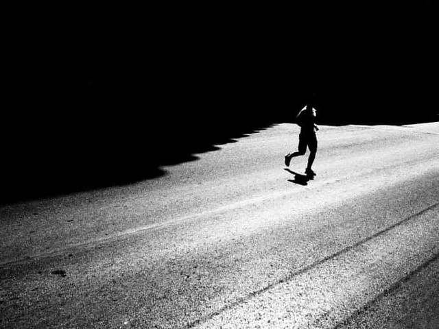 """Run from the Shadows"" by Mirela Momanu"