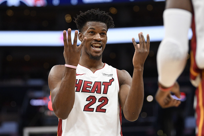 Jimmy Butler。(達志影像資料照)