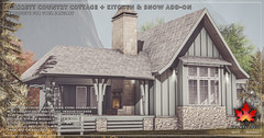 Trompe Loeil - Garrett Country Cottage + Kitchen & Snow Add-On for Uber January