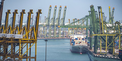Singapore international port hub