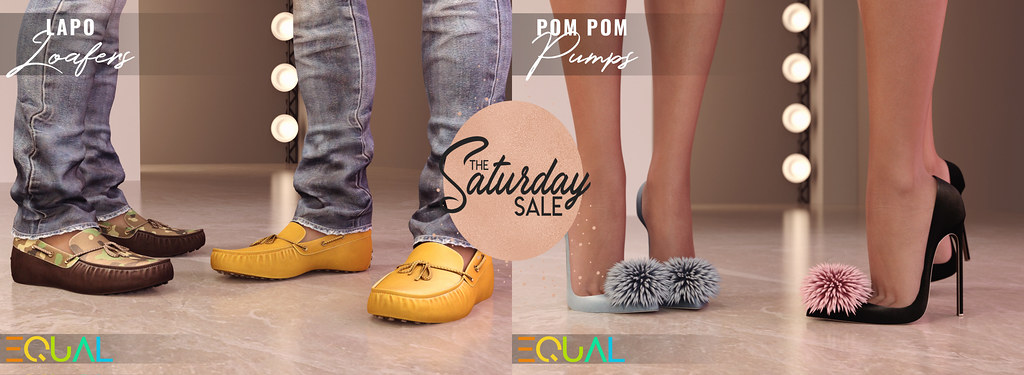 EQUAL – The Saturday Sale 04/25