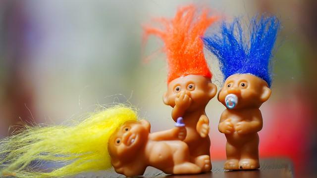 Trolls FLUFFY - 8015