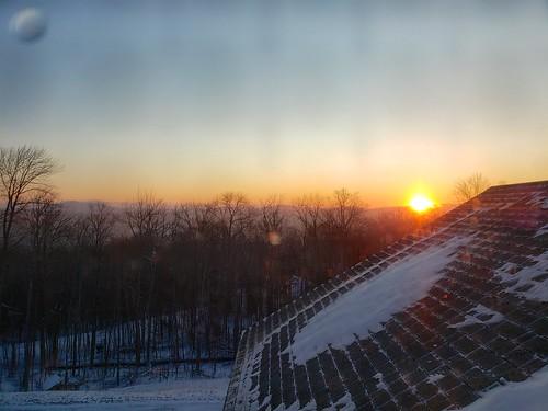 2020 galaxys9 january2020 vermont okemo cameraphone sunrise