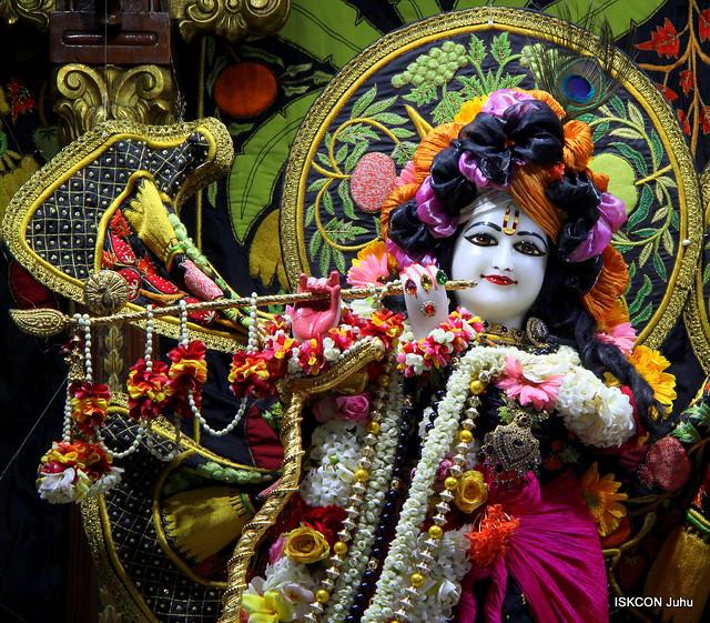 ISKCON Juhu Sringar Deity Darshan on 25th Jan 2020