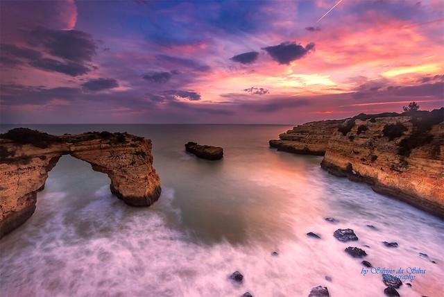Albandeira beach, Lagoa. Algarve, Portugal