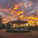 24. Jaanuar 2020 - 17:20 - Sunset at Ropner Park January 2020 Stockton on tees