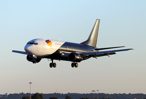 Boeing 737 4Q8SF G-JMCY West Atlantic  EGNX 02072018