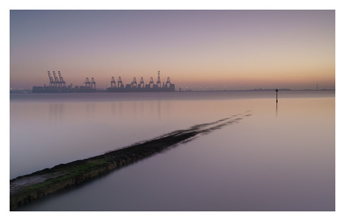 Felixstowe from Harwich