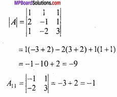 MP Board Class 12th Maths Important Questions Chapter 3 आव्यूह img 28