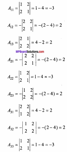 MP Board Class 12th Maths Important Questions Chapter 3 आव्यूह img 25