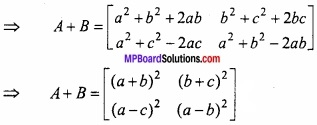 MP Board Class 12th Maths Important Questions Chapter 3 आव्यूह img 2