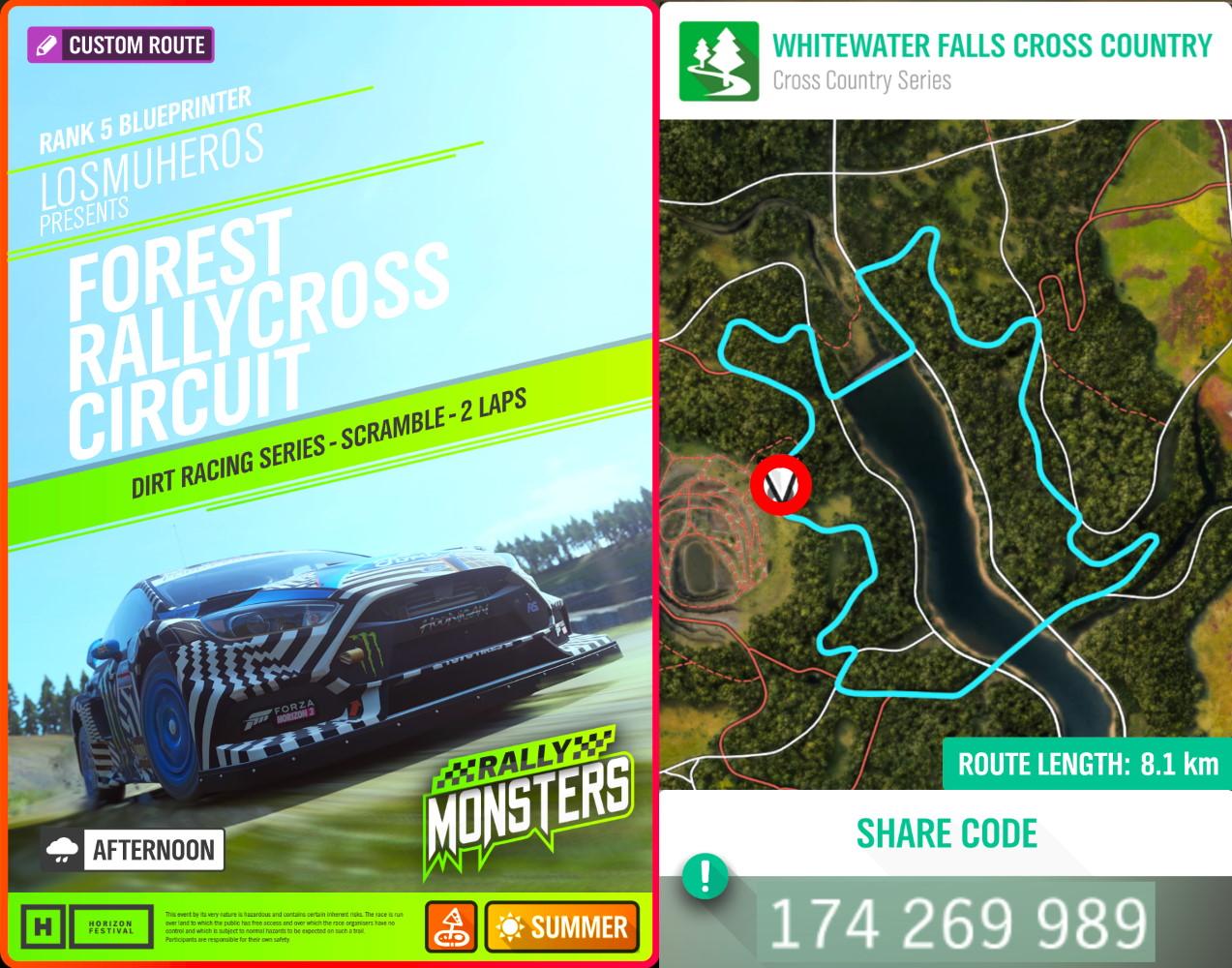 Forest Rallycross Circuit