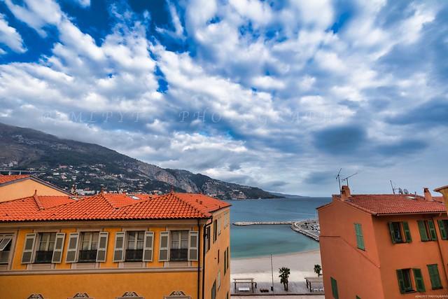 Menton et ses façades - Côte d'Azur France L-3D0A4092-2