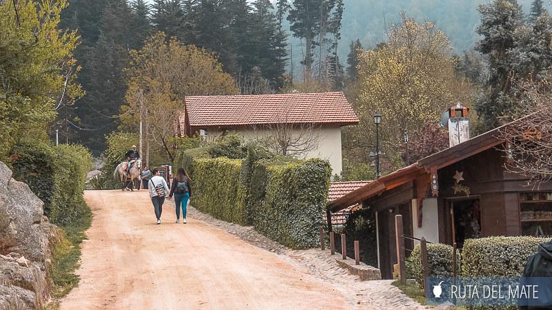 Calles de La Cumbrecita