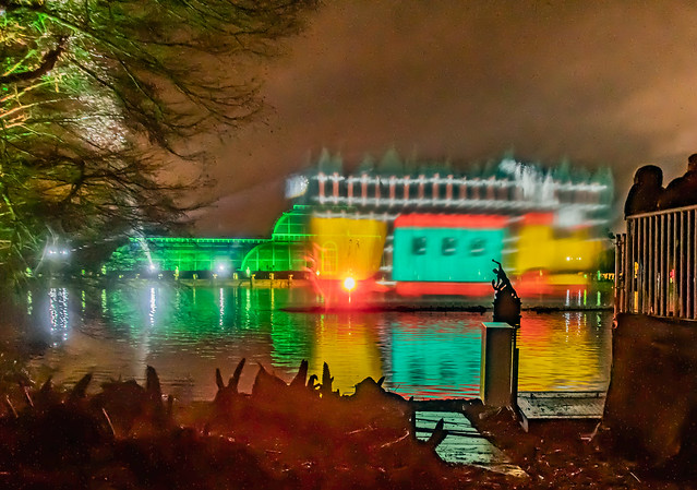 Kew Gardens Winter Light Festival