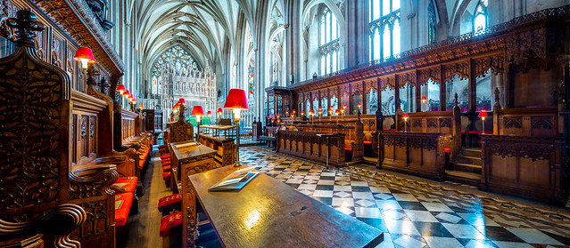 Bristol Cathedral HDR Stitch