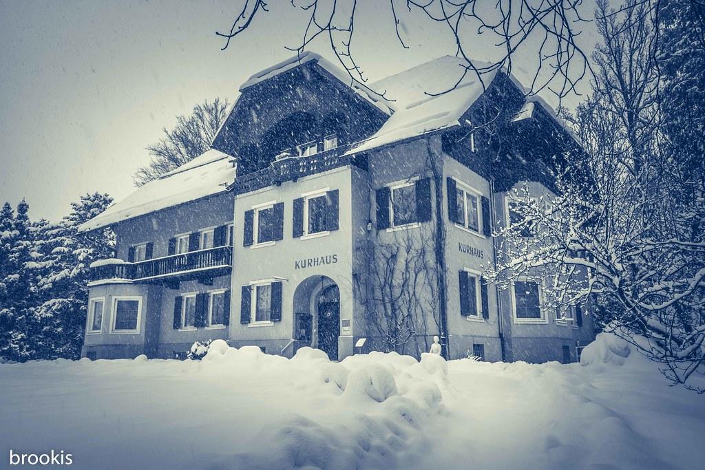 A wonderfully snowy day