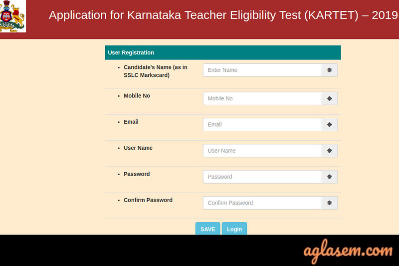 Karnataka TET Application Form Karnataka TET Application Form 2020 (Over) - Apply Online at schooleducation.kar.nic.in