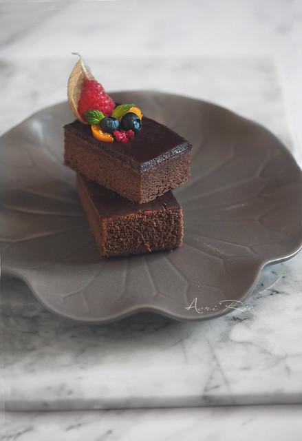 chocolate cotton cake