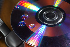 CD drops spectrum light colour