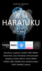 Harajuku 16th round FLYER
