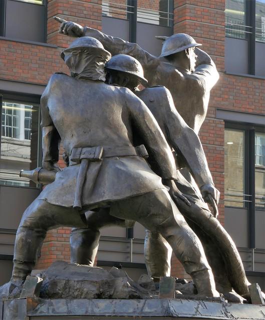John W, Mills,  National Firefighters Memorial