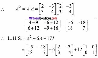 MP Board Class 12th Maths Important Questions Chapter 3 आव्यूह img 27