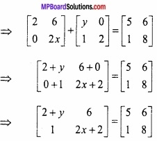 MP Board Class 12th Maths Important Questions Chapter 3 आव्यूह img 9