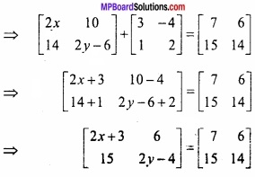 MP Board Class 12th Maths Important Questions Chapter 3 आव्यूह img 6