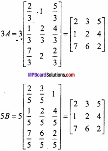 MP Board Class 12th Maths Important Questions Chapter 3 आव्यूह img 4
