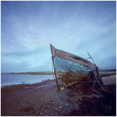 Old Boat, Near Portmagee, Co Kerry.