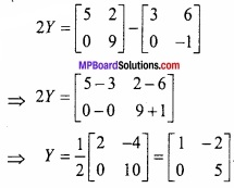 MP Board Class 12th Maths Important Questions Chapter 3 आव्यूह img 8