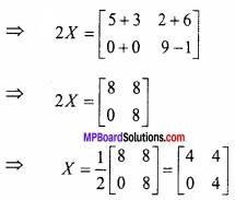 MP Board Class 12th Maths Important Questions Chapter 3 आव्यूह img 7