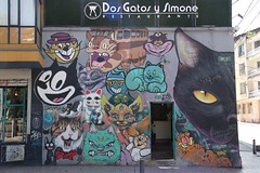 Cats Mural, Bogota