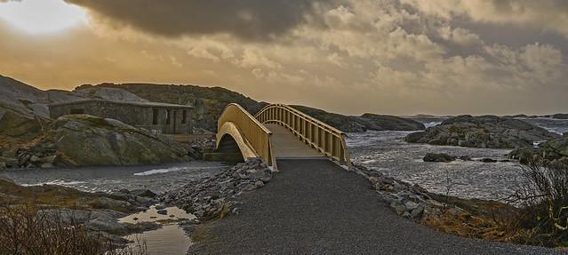 the bridge over to Daumannsholmen