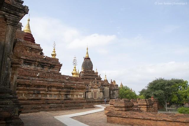 Dhammayazaka-pagodi, Bagan, Myanmar