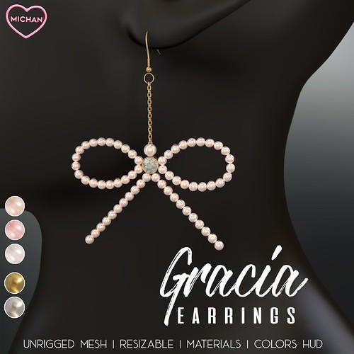 Gracia Earrings @ Sanarae