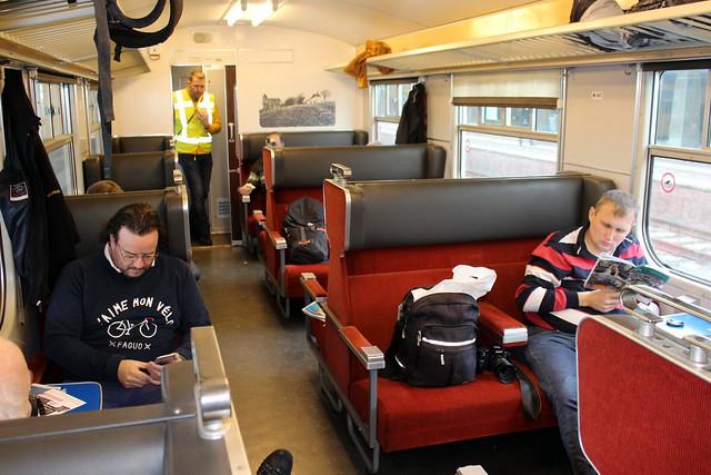 Hondekop 766, the first class compartment