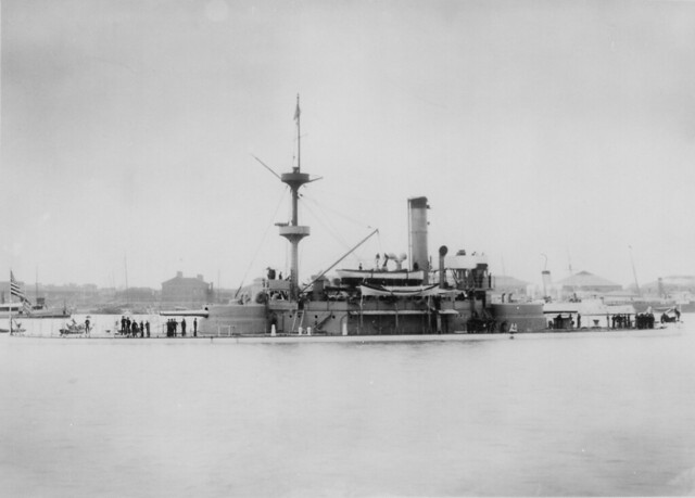 Monitor USS Monadnock (BM3)  in Chinese waters ca. 1901