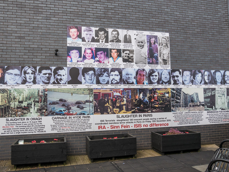 Memorial dedicated to all the victims of the IRA