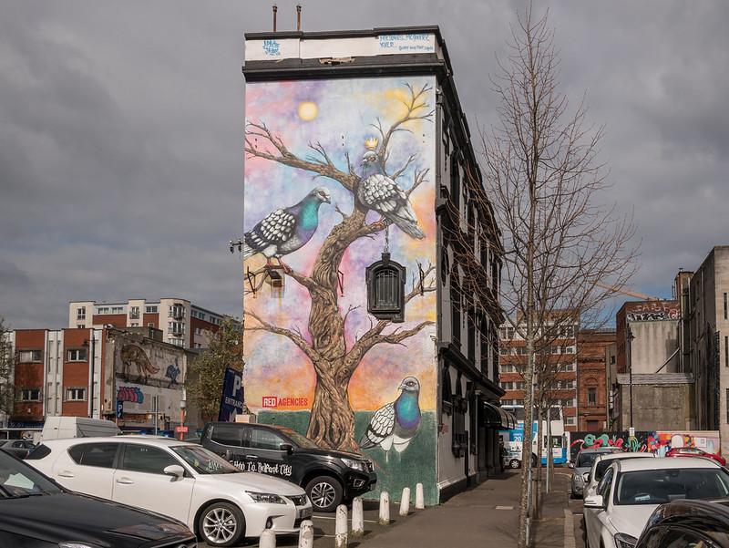 King Pigeon Mural, Belfast