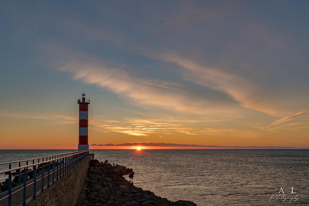 Sunrise  - Port la Nouvelle France -